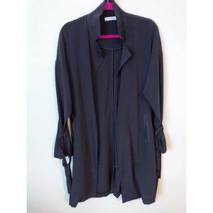 Navy lightweight coat